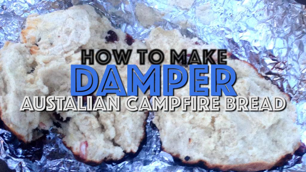 How to make Damper, an Australian campfire bread