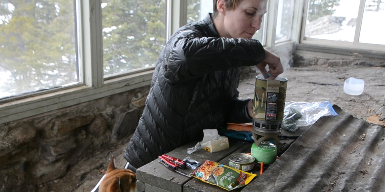 Cold Weather Camping Recipe