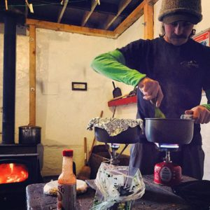 Backcountry trail food tacos