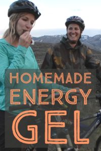 Save money and make homemade energy gel for $.19 a unit