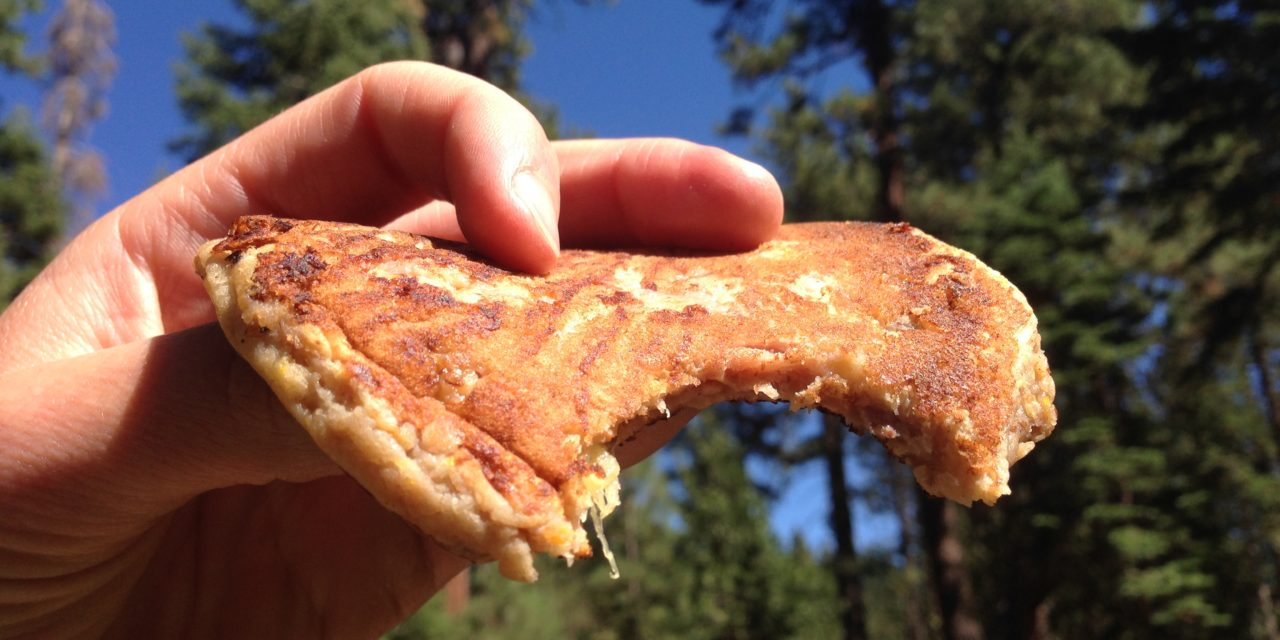 On-The-Go Savory Trail Pancakes