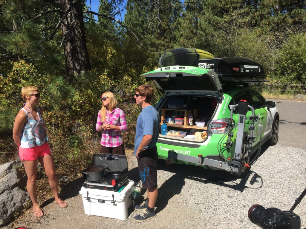 Car camping paleo recipe Leave no Trace