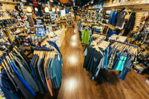 Truckee outdoor retail shop