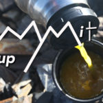 Mountain top meal summit soup recipe cooking outdoors
