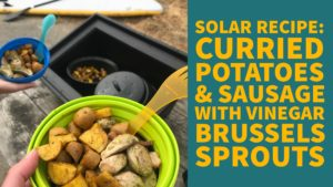 Recipe for solar cooking