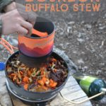 Recipe for backcountry bourbon buffalo stew