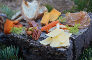 Recipe for meat and cheese plate