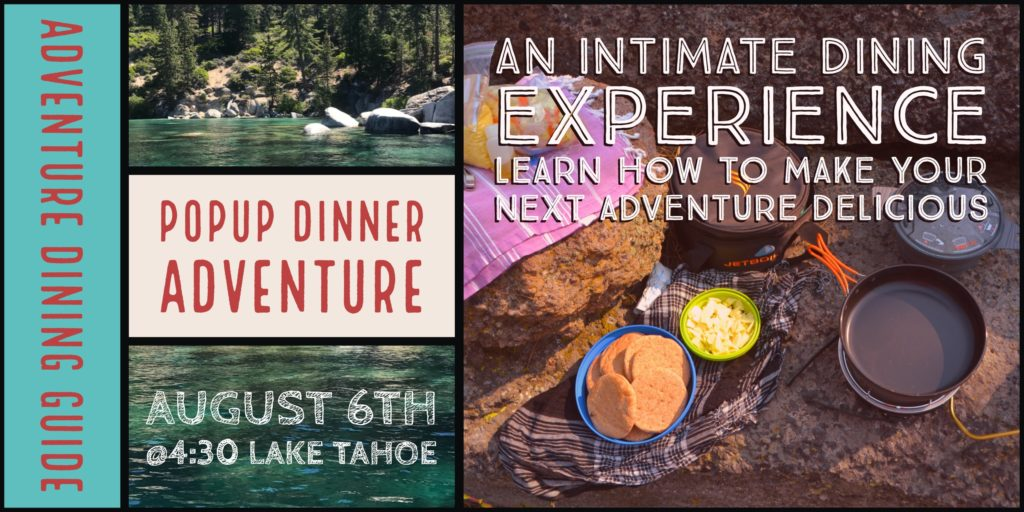 Backcountry PopUp Dinner cooking event