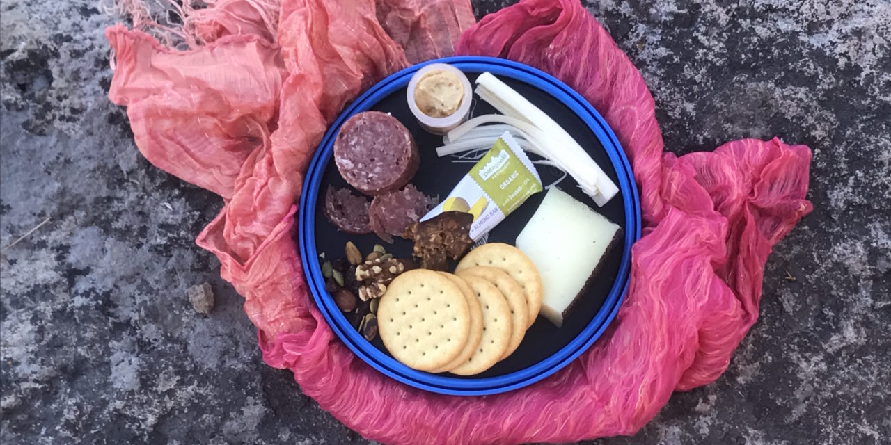 How to Assemble a Wilderness Charcuterie Plate