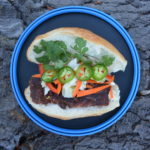 Outdoor recipe for Vietnamese sandwich Bahn Mi